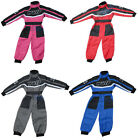 Wulfsport Kids Overalls Race Suit Motocross Quad Bike Childrens Jumpsuit All-In1