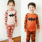 "2Pcs Vaenait Baby Infant Toddler Kid Boy Girls Clothes Sleepwear Pyjama ""Batman"""