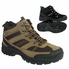 MENS HIKING BOOTS TRAINING ANKLE HI TOPS TRAIL TREKKING LACE UP TRAINERS SHOES