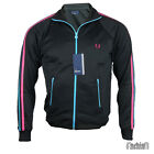 FP-15 Fred Perry Junior Jacke BLACK/BLUE  Gr. S & M !edle Designer Marke aus UK!