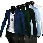 5colors Stylish Men's Casual Slim Fit One Button Suit Blazer Coat Jackets Hot