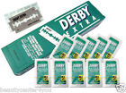 NEW  Derby Extra Platinum Coated Double Edge Safety Razor Blades
