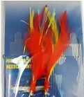 Fishing 2Hooks Rock Fish Rigs #3/0 colorful Feather Fly Rockfish Baits Lures New