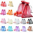 30/100pcs Organza Bag Jewelry Packing Pouch For Wedding Gift Bags