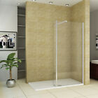 Luxury Walk In Shower Enclosure Tall Wet Room 8mm Easyclean Glass Cubicle Panel