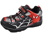 Spider-Man Toddler Boys Shoes Black & Red Sneakers Size 7 8 9 10 11
