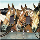 Light Switch Plate Cover - Western horse - Ranch racehorse animal cavalry herd
