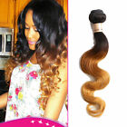 "Brazilian Ombre Human Hair Extension Body Wave Ombre 1b33#27# 12""-30"" US Local"