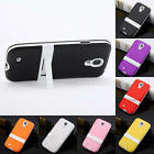 NEW TPU Silicone Gel Rubber Stand Case Skin Cover for Samsung Galaxy S4 I9500