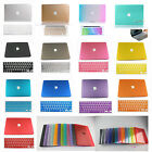 For 2009-2014 New Macbook Pro 13 15/Rubberized Crystal PC Hard Case Cover +Gift