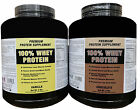100% Whey Protein Great Taste, Easy Mix & High Quality!