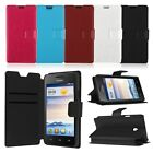 Wallet Flip Card Case Leather Cover Pouch for Huawei Ascend Y330