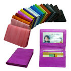 Genuine Eel skin Leather Business card case & Credit card case ID case 19 colors