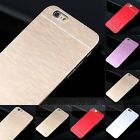 Luxury Metal Aluminum Brushed + PC Hard Back Cover Case Skin For iPhone 6 4.7""