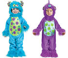 Halloween Li'l Monster Deluxe Toddler Fancy Dress Costume 12~24 Months 1~2 Years