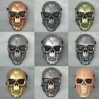 11 Colors Full Face Mesh Wire Eyes Protection Paintball T800 Skull Mask Adult
