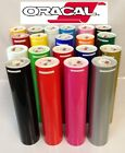 "12"" Adhesive Vinyl (Craft hobby sign maker cutter), 5 Rolls 5 Feet Oracal 651"