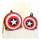 Wholesales 2014 Avengers Captain America Shield Student Backpack Book Bag CA EF
