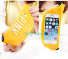 Creative 3D Cute Lovely Banana Soft Silicone Cover Case Skin F Iphone 5 5S 6