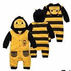 NEW Baby Long Sleeve Clothes BEE style with Hat 0~12months (103442)