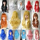 80cm Womens Sexy Long Curly Wavy Wig Fashion Wig Cosplay Party Full Wig SOZ