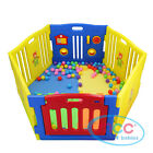MCC Large Foldable Plastic Baby Playpen Indoor& Outdoor With Optional Playmats