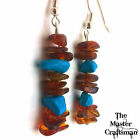 ☆ PURE GENUINE BALTIC AMBER 'INFUSION' EARRINGS ADULT LADIES CHILDS DROP DANGLE☆