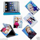 Disney Frozen Cartoon Leather Case Cover For 7 RCA RCT6077W2 / RCT6077W22 Tablet