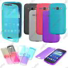 Housse Etui Coque Portefeuille Silicone Gel TPU Samsung Galaxy Ace 3 S7270