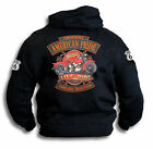 American Pride Live Ride Biker Harley Route 66 USA Mens Hoodie Hooded Top Sm-2XL