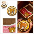 Coasters home cartoon Relax bear silicone Nonslip Drinks Coasters  A209