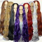 40 inch Heat Resistant No Bang Midpart ALL COLOR Curly Extra Long Cosplay Wigs