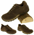 Mens CATERPILLAR CAT Trainers LEATHER Oxford Lace Up Casual Work Shoes Size 6 7