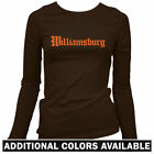Williamsburg Gothic Women's Long Sleeve T-shirt - LS Hipster Brooklyn New York