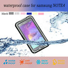 Waterproof Durable Shockproof Cover Skin Case For Samsung Galaxy Note 4