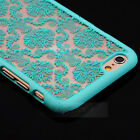Rubberized Damask Vintage Pattern Matte Hard Case Cover For Apple iPhone 6 4.7""