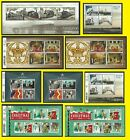 2014 Miniature Sheet Issues of Great Britain each Sold Separately Mint nh