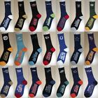NFL Team Logo Socks, Crew Length (Large,10-13) - Variety of Teams Available $14.95 USD on eBay