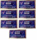 CREST3D 7 DAYS PRO EFFECTS LUXE PROFESSIONAL WHITENING STRIPS PRO TEETH 14 POUCH