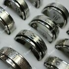 15-150pcs wholesale jewelry mixed fashion stainless steel rings free shipping