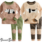 "2Pcs Vaenait Baby Infant Animal Toddler Girl Boy Clothes Sleepwear Pyjama""Zoo"""