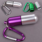 ❤CHEAP❤ Promotion Cool Waterproof Pill Box Case Bottle Container+Carabiner Hook