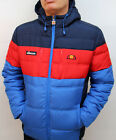 Ellesse Heritage 80s - Marinelli Padded Jacket in Navy Red & Royal S,M,L,XL,2XL