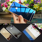 Electroplating Mirror Effect Tempered Glass Back Screen Protector For iPhone 6