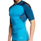 Adidas Mens TechFit Cool Compression T Shirt Sports Fitness Short Sleeve Top Tee