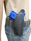 New Barsony Black Leather OWB Belt Holster Bersa Compact, Sub-Compact 9mm 40 45