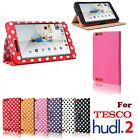 "PU Leather Smart Folio Stand Case Cover for TESCO HUDL2 HUDL 2 8.3"" Tablet PC"