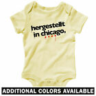 Made in Chicago German One Piece - Baby Shirt Infant Creeper Romper - NB to 24M