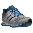 Adidas SpringBlade Drive Tech Grey Blue Breathable Mesh Mens M Running Shoes