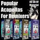 REMIX ACAPELLAS Ableton Cubase Reason Logic Pro FL Studio Sonar Vocal Magix N.I